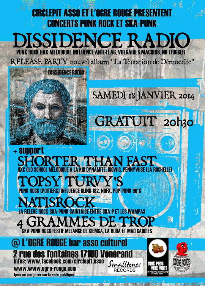 DISSIDENCE RADIO + Guests @ Vénérand (17)