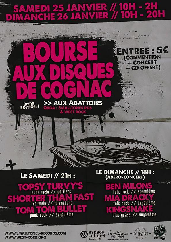 BOURSE AUX DISQUES @ Cognac (16)
