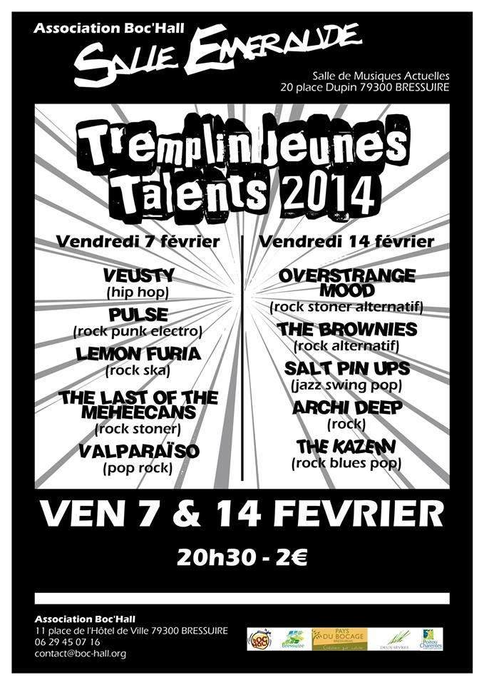 TREMPLIN JEUNES TALENTS @ Bressuire (79)