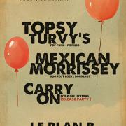 MEXICAN MORRISSEY + TOPSY TURVY'S + CARRY ON @ Poitiers (86)
