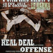 REAL DEAL + OFFENSE + SPREAD THE FURY + VENGEANCE @ Angoulême (16)